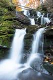 Waterfall, autumn, beautiful waterfall,beautiful autumn landscape, mountain stream. river royalty free stock images
