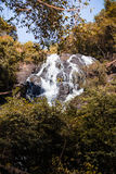 Waterfall in autumn forest at Salika waterfall national in Thailand. Beautiful Waterfall in autumn forest at Salika waterfall national in Thailand Stock Photos