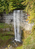 Waterfall in autumn, Ontario, Canada Royalty Free Stock Images