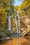 Waterfall in Autumn Season Stock Photography