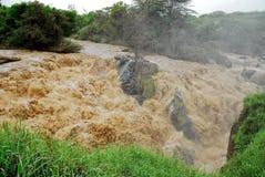 Waterfall at Awash National Park, Ethiopia Royalty Free Stock Photos