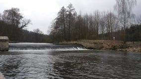 Waterfall Babiccino udoli CZ Royalty Free Stock Photo