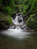 Waterfall. The babies waterfall on the lawe waterfall Royalty Free Stock Photography
