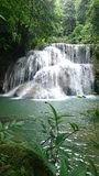 Waterfall. Background nature travel Royalty Free Stock Image