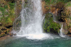 Waterfall background Royalty Free Stock Images