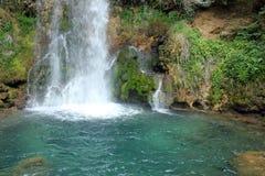 Waterfall background Royalty Free Stock Photo