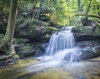 Backwoods Kentucky waterfall stock images