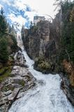 Waterfall in Bad Gastein Royalty Free Stock Images