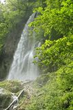 Waterfall of Bad Urach, Germany Royalty Free Stock Photos