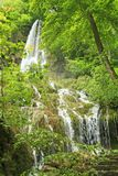 Waterfall of Bad Urach, Germany Stock Photo