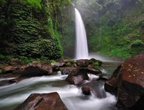Waterfall in Bali, Indonesia Royalty Free Stock Image