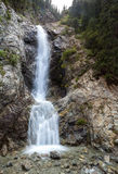 Waterfall Barskoon in Tien Shan, Kirgizstan Stock Photo