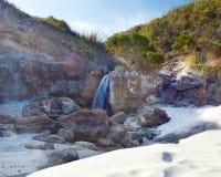 Waterfall Beach Stock Images