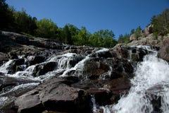Waterfall. A beautiful waterfall in the Missouri Ozarks stock image