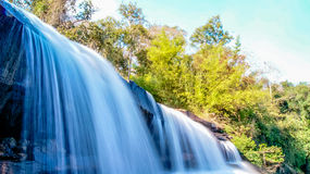 Waterfall beautiful in NaHaeo. In NaHaeo Loei Thailand Royalty Free Stock Photos