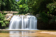 Waterfall beautiful tropical landscape in national park Stock Images