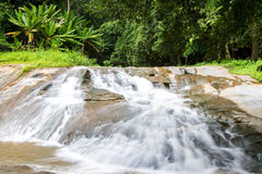 Waterfall beautiful tropical landscape in national park Royalty Free Stock Images