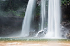 Waterfall beautiful in wild nature Royalty Free Stock Image