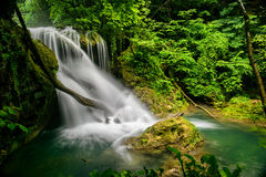 Waterfall. A beautifull waterfall, somewhere in Romania Stock Photography