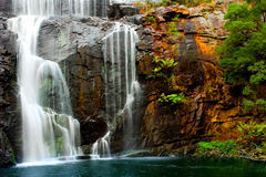 Waterfall Beauty. Waterfall in the Grampians, Victoria Stock Photos