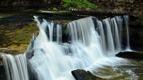 Waterfall bedford Royalty Free Stock Photography