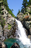 Waterfall in Benasque Valley Stock Photos