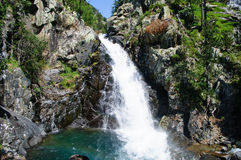 Waterfall in Benasque Valley Royalty Free Stock Photography