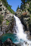 Waterfall in Benasque Valley Royalty Free Stock Images