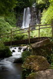 Waterfall of Besse in Auvergne Royalty Free Stock Images