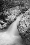 Waterfall on Bicaz River royalty free stock photo