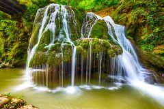 Waterfall Bigar Royalty Free Stock Photography