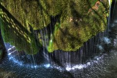 Waterfall Bigar in Romania Stock Images