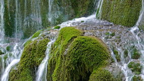 Waterfall Bigar, Romania 2 stock video footage