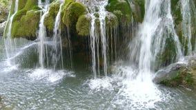 Waterfall Bigar, Romania 4 stock video