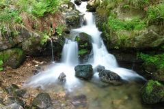 Waterfall in the Black Forest in Germany. Beautiful nature with waterfall in the Black Forest in Germany royalty free stock photography
