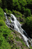 Waterfall in the Black Forest in Germany. Beautiful nature with waterfall in the Black Forest in Germany stock photography