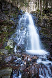 Waterfall in black forest Stock Image