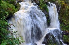 Waterfall in the Black Forest in Triberg Royalty Free Stock Photo