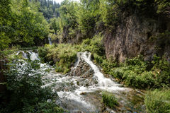Waterfall in Black Hills Royalty Free Stock Photo