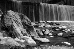 Waterfall in black and white by ioanna papanikolaou _CSC0213 Stock Images