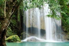 Waterfall Blue Stock Photo