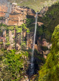 Waterfall in Blue Mountains Australia Stock Image