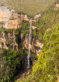 Waterfall in Blue Mountains Australia Royalty Free Stock Photo