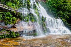 Waterfall, Blue Mountains National Park Royalty Free Stock Photo
