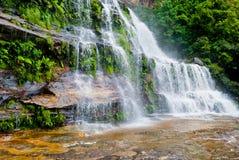 Waterfall, Blue Mountains National Park. NSW, Australia Royalty Free Stock Photo