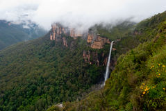 Waterfall in Blue Mountains National Park, NSW Stock Photography