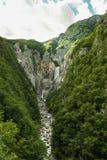 Waterfall Boka landscape Royalty Free Stock Image