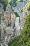 Waterfall Boka Stock Image