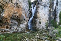 Waterfall Borosa Stock Image
