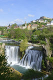 Waterfall in bosnia and herzegovina Stock Images